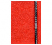 "Christian LaCroix Scarlet A6 6"" X 4.25"" Paseo Notebook"
