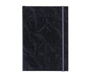 "Christian LaCroix Black A6 4.25"" X 6"" Paseo Notebook"