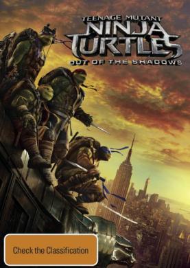 Teenage Mutant Ninja Turtles 2 DVD 1Disc