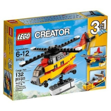 LEGO® Creator Cargo Heli 31029 For Taxi to The Runway