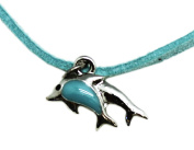 Twin Dolphin Necklace