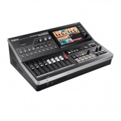 Roland VR-50HD All-in-One HD Multi-Format AV Mixer with USB 3.0 for Web Streaming & Recording