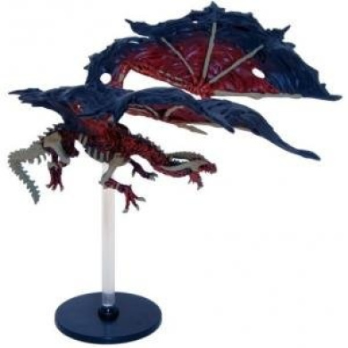 D & D Minis: Red Dracolich 48 - Rage of Demons