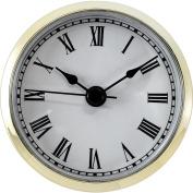 White Roman Precision Quartz Clock Movement