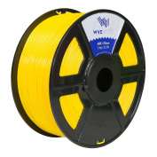 WYZworks ABS 1.75mm [ YELLOW ] Premium 3D Printer Filament - Dimensional Accuracy +/- 0.05mm 1kg / 2.2lb + [ Multiple Colour Options Available ]
