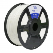 WYZworks ABS 1.75mm [ WHITE ] Premium 3D Printer Filament - Dimensional Accuracy +/- 0.05mm 1kg / 2.2lb + [ Multiple Colour Options Available ]