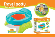 Little Treasures Travel Potty with Removable Bowl for Ages 9 Months and Up