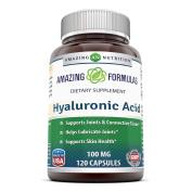 Amazing Nutrition Amazing Formulas Hyaluronic Acid 100mg 120 Capsules