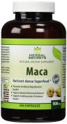 Herbal Secrets Maca 500 Mg 250 Caps - Supports Reproductive Health - Energising Herb*