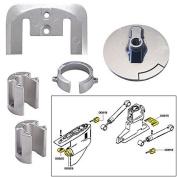 Tecnoseal Anode Kit w/Hardware - Mercury Bravo 1 - Zinc by Tecnoseal