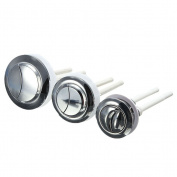Twinkling Stars Plastic Dual Flush Toilet Water Tank Push Button With 2 Rod for 38/48/58mm Hole