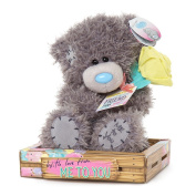 """Me to You SG01W4098 15cm Tatty Teddy Holding Rose and """"Special Friend"""" Tag Bear Sits Plush Toy"""