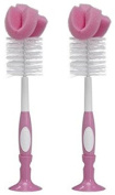 Dr. Browns Baby Bottle Brush - Pink - 2 Count