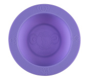 oogaa Silicone Baby Feeding Bowl Silicone - Purple, Purple