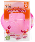 Vital Baby Trap-A-Snack Utensil, Pink