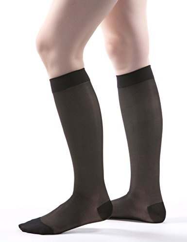 1ff036a57f Allegro Essential - Sheer Support Knee Highs 20-30mmHg #18 (Large ...