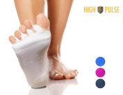 High Pulse toe separator socks - gentle relaxation and alignments for toes and feet suffering pain