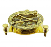 AVS STORE New Compass Magnetic Nautical Sundial
