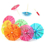 Ardisle 30 Mixed Paper Cocktail Umbrellas Parasols for Party Tropical Drinks Accessories
