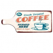 We serve Coffee Cutting board