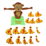 Monkey Math Game Balance Bananas Toys Educational Learning Family Fun Set