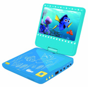 Lexibook DVDP6DO Finding Dory Portable Dvd Player With Car Adaptor And Remote