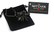 The Witcher 3 Wild Hunt Wolf Head Necklace Pendant
