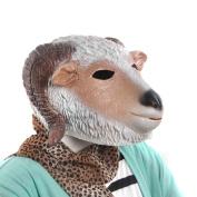 KINGMAS® Halloween Goat/Sheep Head Latex Mask Party Animal Toy/Prop
