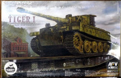 AFV Club AF35S25 - Model Kit Tiger I Armoured Combat Tank VI E Sd Kraftfahrzeug 181