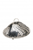 Kitchen Craft Stainless Steel 23cm Collapsible Steaming Basket