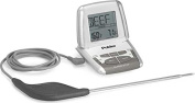 Polder Deluxe Preset Thermometer with Ultra Probe, White