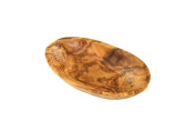 D.O.M. Oval bowl made of olive wood 10cm