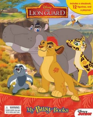 The Lion Guard: My Busy Book