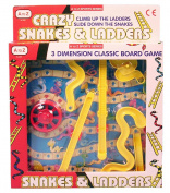 A to Z 3D Snakes & Ladders
