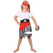 High Seas Pirate Girl - Kids Costume 8 - 10 years
