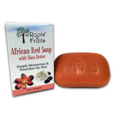 Roots & Fruits Bar Soap - African Red Soap - Shea Butter - 150ml