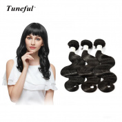 30cm 36cm 41cm Tuneful Hair 7A Grade Body Weave 100% Brazilian Virgin Human Hair Extension 3 Bundles 310ml Natural Colour