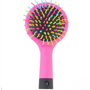 1Pcs 3Colors Hot Rainbow Detangling Hair Care Styling Hair Brush Comb Teezer Massage Tangle HairBrush Combs Hairdresser Wet Dry Brush Mirror Anti-static Makeup Hair Styling Tools