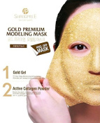 Shangpree - Gold Premium Modelling Mask - Anti Ageing Mask with Gold & Collagen - Moisturising & Rejuvenating Masks
