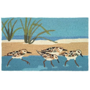 Homefires Accents Oceanside Sandpipers 60cm by 90cm Indoor Rug
