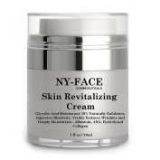 NY FACE's Skin Revitalising Cream - Naturally Exfoliates, Improves Elasticity, Visibly Reduces Wrinkles and Deeply Moisturises