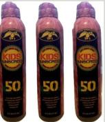 Lot of 3 Duck Commander KIDS Sport Sunscreen Spf 50 Clear & Rub Free
