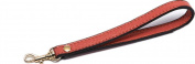 Goldtone Buckle Cowhide Genuine Leather Wrist Straps Replacement for Clutch Wristlet Purse Pouch