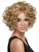 B-G Charming Wigs New Fashion Women Short Full Hair Wig for Women Kanekalon Natural Hair Wigs WIG043G