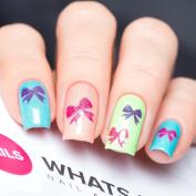Bow Stencils for Nails, Valentine's Day Nail Stickers, Nail Art, Nail Vinyls - Medium
