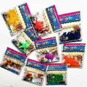 ASCRAFTS 6 Bags Water Crystals Bags Jelly Beads- Water Crystals Blue/Green/Orange/Purple/Red/Yellow