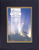 GoodOldSaying - Poem for Inspirations - Christ's shining, open tomb needed no sun . . . on 8x10 Biblical Verse set in Double Mat (Black On Gold) - A Priceless Poetry Keepsake Collection