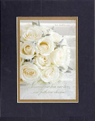 GoodOldSaying - Poem for Love & Marriage - Sharing our love . . .(Ephesians 5:31). . . on 8x10 Biblical Verse set in Double Mat (Black On Gold) - A Priceless Poetry Keepsake Collection