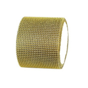 Koyal Gold Diamond Rhinestone Ribbon Wrap 11cm W x 90cm L