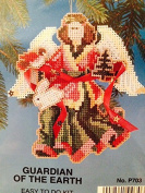 Angels ~ Guardian of the Earth cross stitch Ornament Kit ~ 12cm